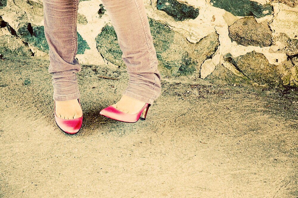 {pink stilettos} by meg4m