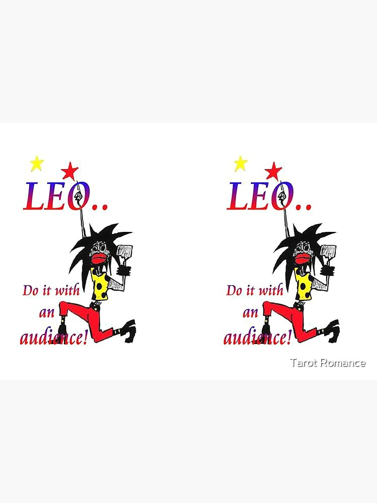 Leo - do it with an audience by AlisonWilkie