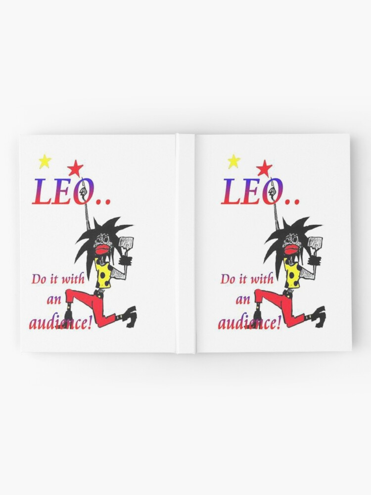 Alternate view of Leo - do it with an audience Hardcover Journal