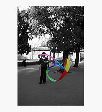 China ribbon Photographic Print