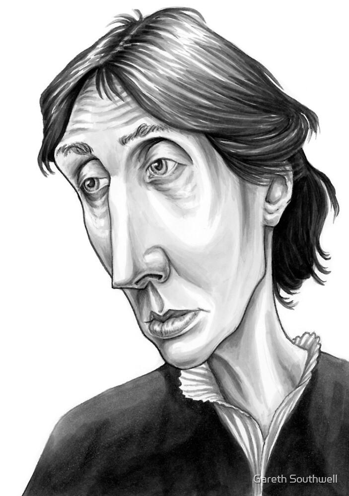 Virginia Woolf by Gareth Southwell