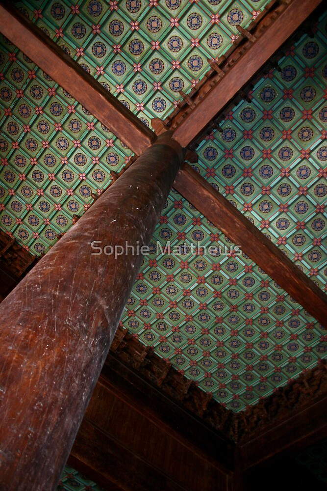 Chinese ceiling by Sophie Matthews