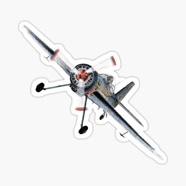 Aerobatic Sticker