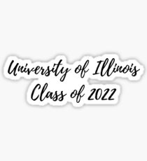 University of Illinois Class of 2022 Sticker