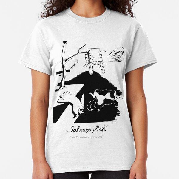 #meowdernart - Salvador Gatí Classic T-Shirt