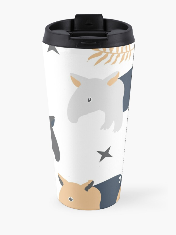 Alternate view of Cute tapir Travel Mug