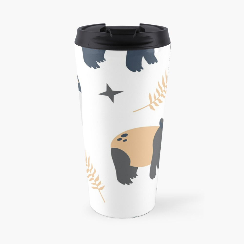 Cute tapir Travel Mug