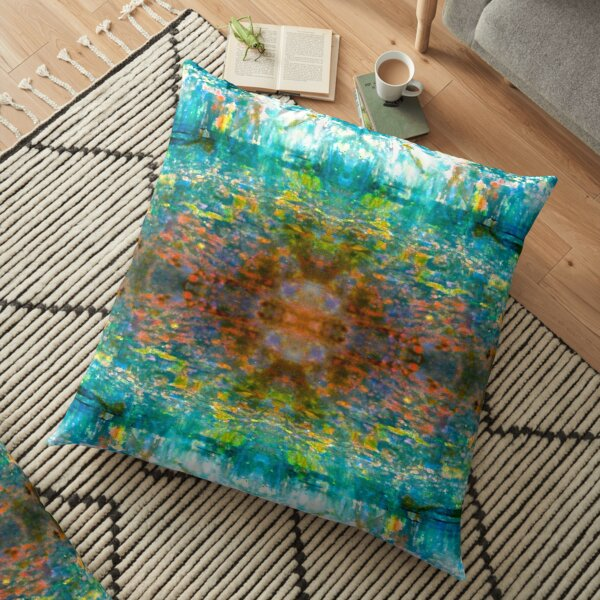 Impressionist Opal Floor Pillow