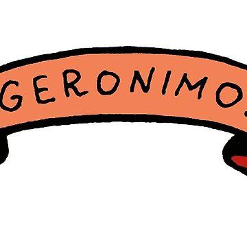 Geronimo!  by illustore