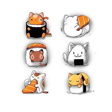 Sushi - Cat by Monac01