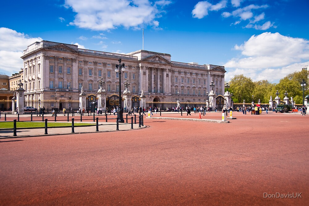 Beautiful Buckingham Palace in the Spring: London UK by DonDavisUK
