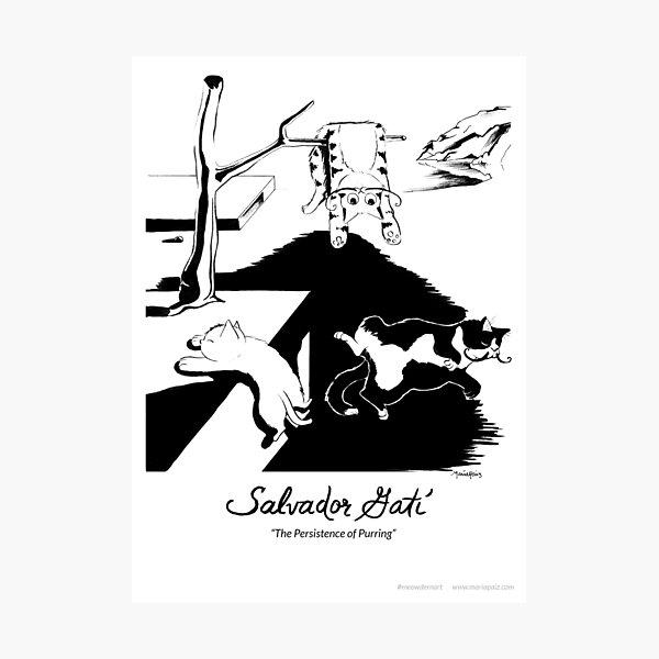 #meowdernart - Salvador Gatí Photographic Print