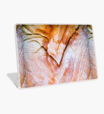 Tree trunk section close up Laptop Skin