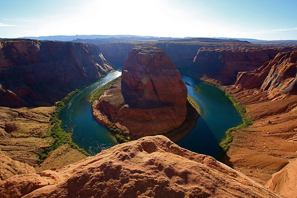 Horseshoe Bend Glen Canyon by krasakala