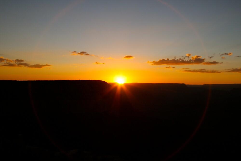 Sunrise in the Grand Canyon by krasakala