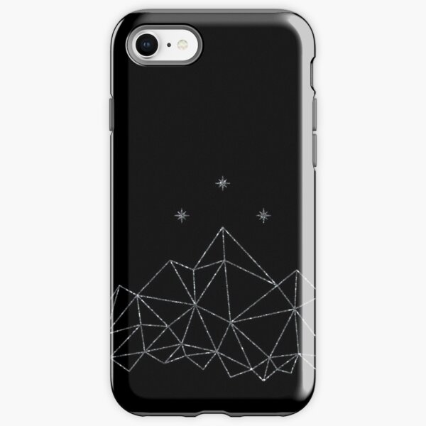 the Night Court insignia from A Court of Frost and Starlight iPhone Tough Case