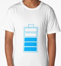 Battery charge III Long T-Shirt