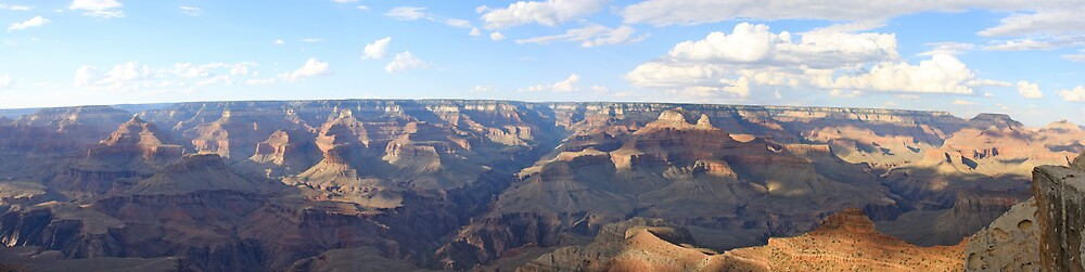 Panoramic Grand Canyon by krasakala