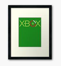 Red Ring Xbox Framed Print