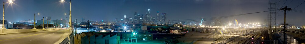 Los Angeles @ Night by harleyphoto