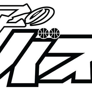 Kuroko no Basuke Logo (Black) by kagegfx