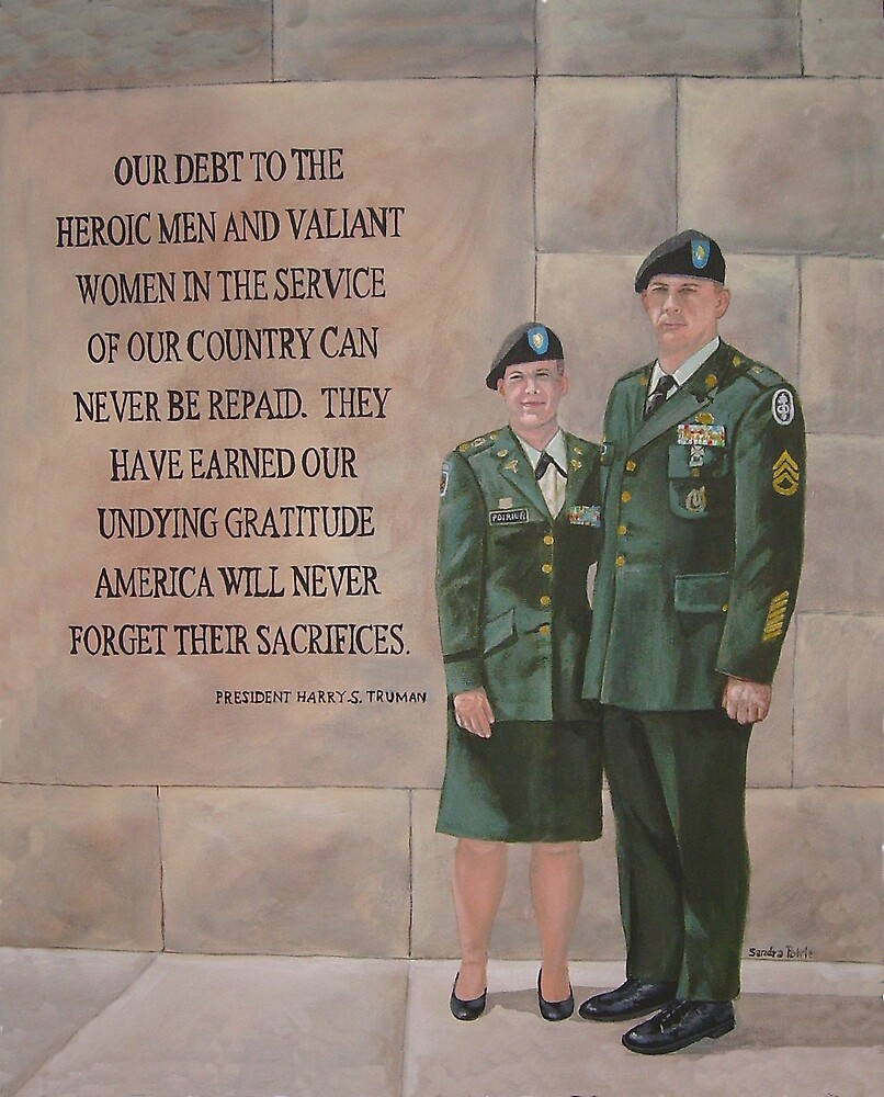 In Honor of those.... by Sandra Poirier