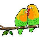 Lovebirds by Adam Regester