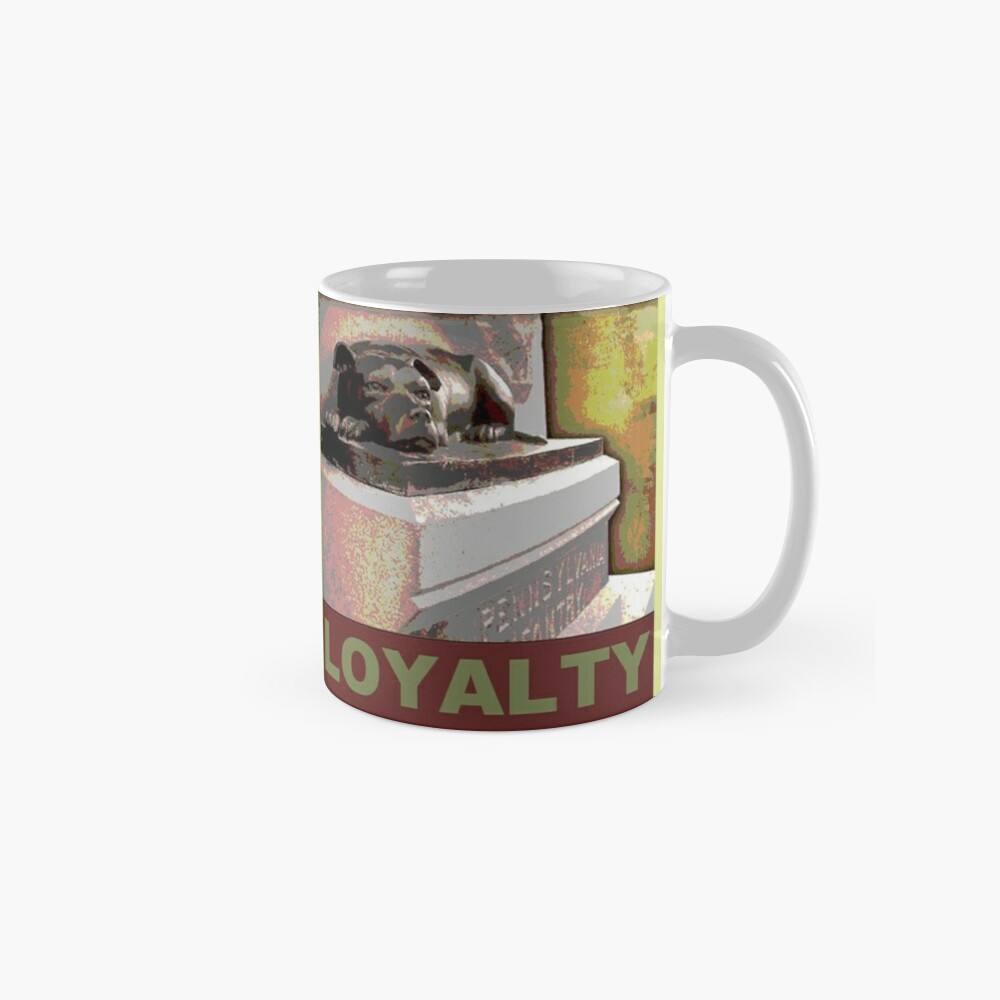 Sallie LOYALTY Posterized Classic Mug