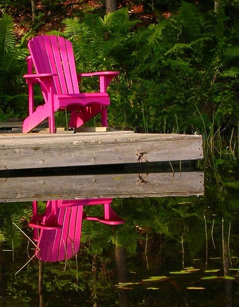 Happy Solitude by Nancy Barrett