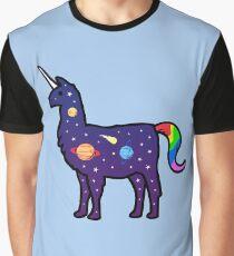 Raum Llamacorn Grafik T-Shirt