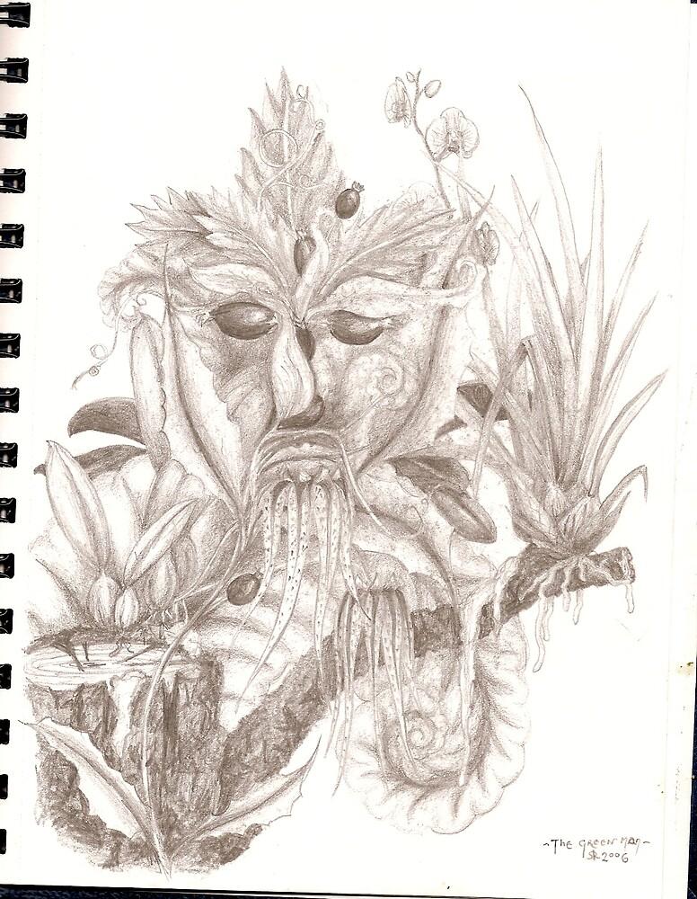 green man by Finnola