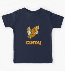 Cindy Eagle Sticker Kids Tee