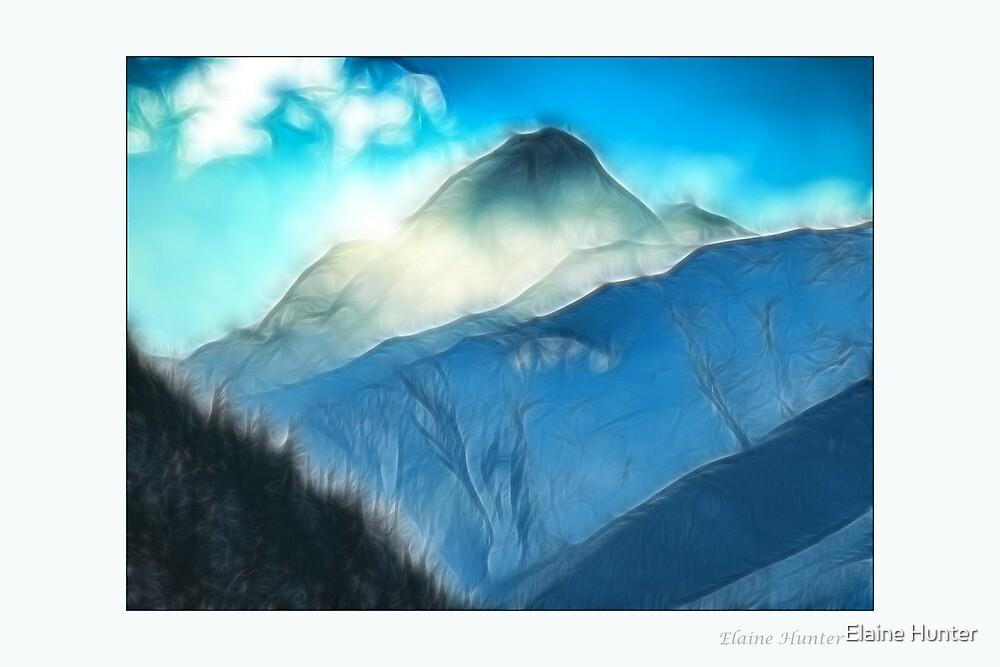 Mountain Fog by Elaine Hunter
