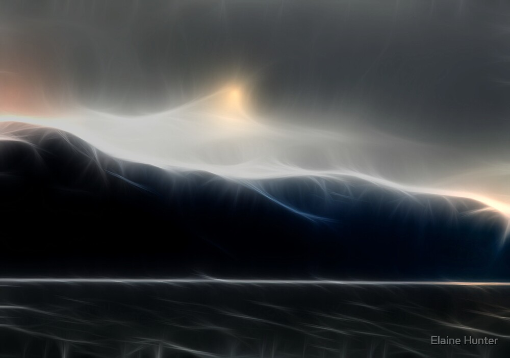 Mountain Storm by Elaine Hunter