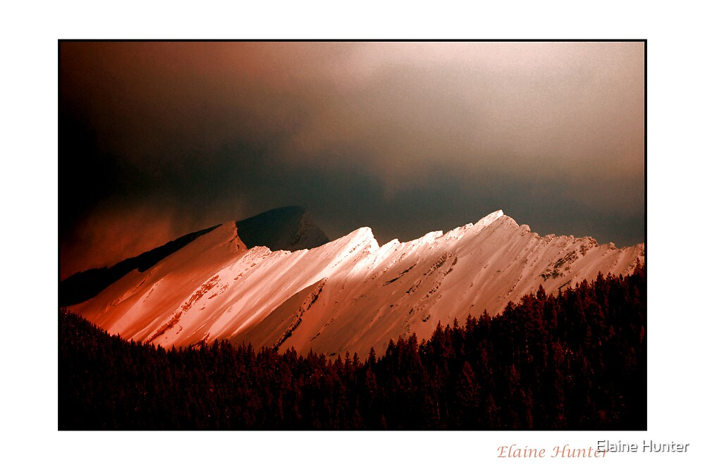 Rocky Mountain Glory by Elaine Hunter