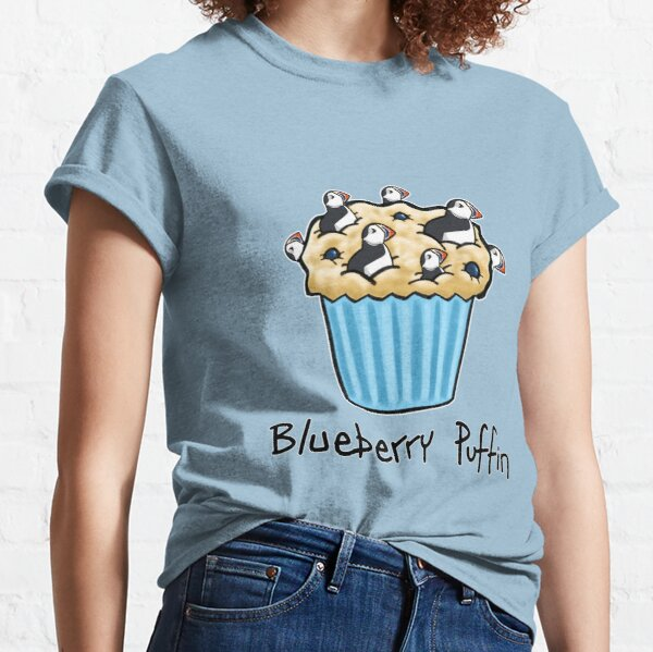 Blueberry Puffin Classic T-Shirt