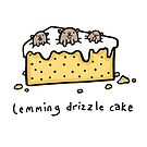 Lemming Drizzle Cake by DocHackenbush