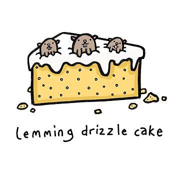 Lemming Drizzle Cake by DocHackenbush