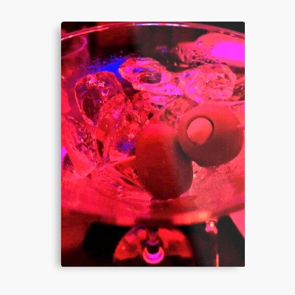 Martini Madness Olive Bliss Metal Print