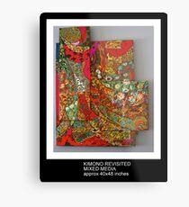 Kimonos Metal Print