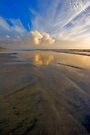 Oceanside Reflection ll by photosbyflood