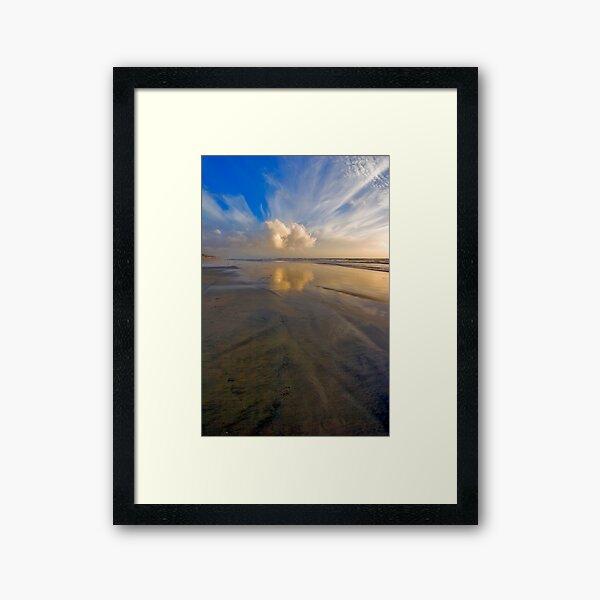Oceanside Reflection ll Framed Art Print