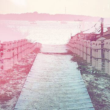 Boardwalk in Pink by debschmill