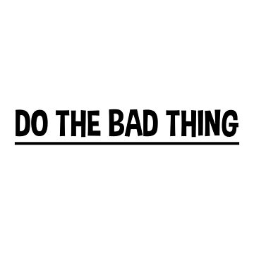 DO THE BAD THING (Arctic Monkeys) by barnzeydesigns
