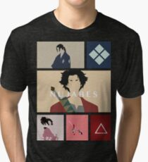 Samurai Champloo Tri-blend T-Shirt