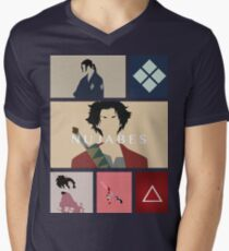 Samurai Champloo Men's V-Neck T-Shirt