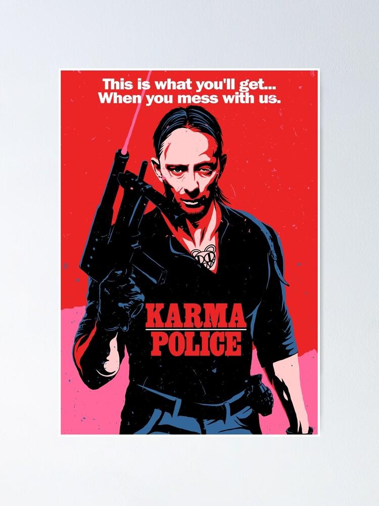 Alternate view of Karma Poster