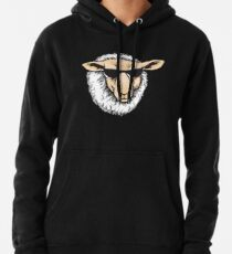 Cool Sheep With Sunglasses - Herd Farm Farmer Pullover Hoodie