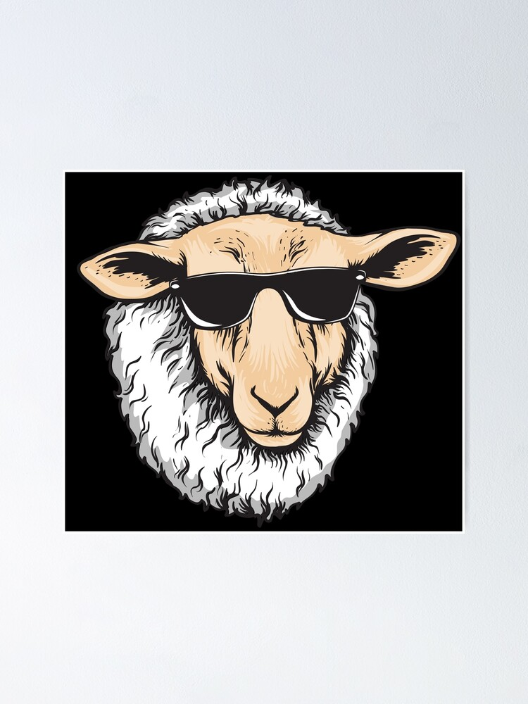 Zero Flocks Given Sheep Cute Lamb Decor Funny Beer Can Pint Glass Gift Fun Farm Animal Gifts for Men /& Women