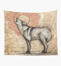 Wolf Totem Wall Tapestry